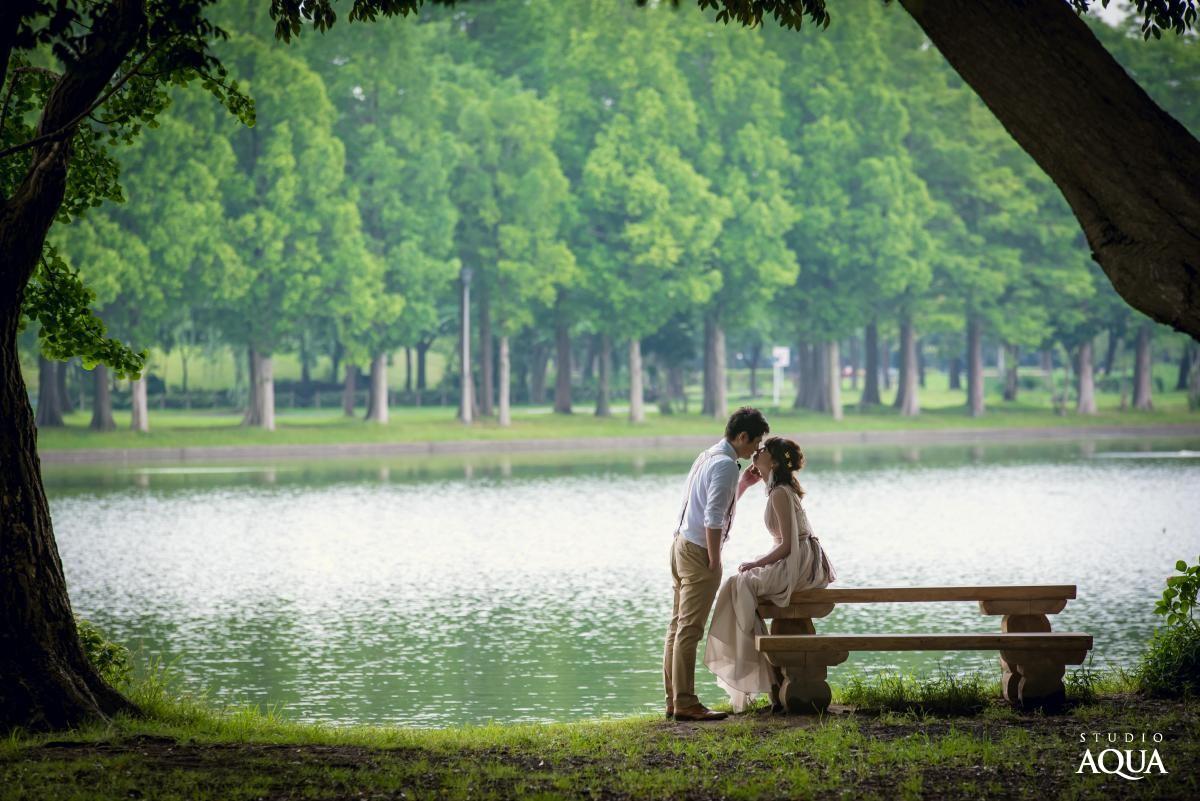 水元公園ロケーション ロケーションプラン 東京(浅草)結婚写真・フォトウエディング専門スタジオアクア浅草