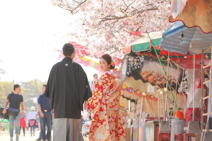 春の訪れ、舞鶴公園